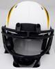 LaDainian Tomlinson Autographed San Diego Chargers Lunar Eclipse White Speed Mini Helmet (Smudged) Beckett BAS QR #WK09861
