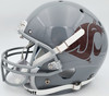 Ryan Leaf Autographed Washington State Cougars Gray Schutt Full Size Replica Helmet Beckett BAS QR Stock #193975
