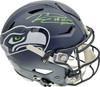 "Russell Wilson Autographed Seattle Seahawks Full Size Authentic Hyper Speed Flex Helmet ""SB XLVIII Champs"" RW Holo & Beckett BAS Stock #194028"