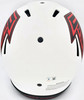 Kyle Pitts Autographed Atlanta Falcons Lunar Eclipse White Full Size Authentic Speed Helmet Beckett BAS QR Stock #194409