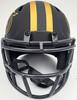 Trey Lance Autographed San Francisco 49ers Eclipse Black Speed Mini Helmet Beckett BAS QR Stock #194735