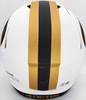 Trey Lance Autographed San Francisco 49ers Lunar Eclipse White Full Size Replica Speed Helmet Beckett BAS QR Stock #194740
