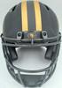 Trey Lance Autographed San Francisco 49ers Eclipse Black Full Size Authentic Speed Helmet Beckett BAS QR Stock #194744
