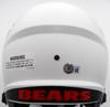 Justin Fields Autographed Chicago Bears Lunar Eclipse White Full Size Replica Speed Helmet Beckett BAS QR Stock #194772