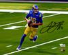 Jared Goff Autographed 8x10 Photo Los Angeles Rams Fanatics Holo Stock #194784