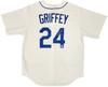 Seattle Mariners Ken Griffey Jr. Autographed White Nike Jersey Size L Beckett BAS & MCS Holo Stock #194790