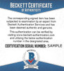 "Ken Griffey Jr. Autographed Official MLB Baseball Seattle Mariners ""87 #1 Pick"" Beckett BAS & MCS Holo Stock #194792"
