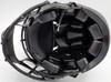 Deion Sanders Autographed Atlanta Falcons Eclipse Black Full Size Authentic Speed Helmet Beckett BAS QR Stock #194870