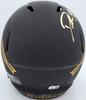 Deion Sanders Autographed Florida State Seminoles Eclipse Black Full Size Replica Speed Helmet Beckett BAS QR Stock #194873