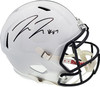 Pat Freiermuth Autographed Penn State Nittany Lions White Full Size Replica Speed Helmet Beckett BAS QR Stock #194874