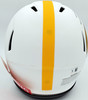 Pat Freiermuth Autographed Pittsburgh Steelers Lunar Eclipse White Full Size Authentic Speed Helmet Beckett BAS QR Stock #194876