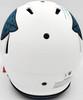 Travis Etienne Autographed Jacksonville Jaguars Lunar Eclipse White Full Size Authentic Speed Helmet Beckett BAS QR Stock #194879