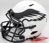 DeVonta Smith Autographed Philadelphia Eagles Lunar Eclipse White Full Size Authentic Speed Helmet Beckett BAS QR Stock #194905