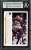 Dennis Rodman Autographed 1991-92 Upper Deck Card #457 Detroit Pistons Beckett BAS #13020185