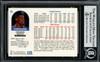 Dennis Rodman Autographed 1992-93 Hoops Card #66 Detroit Pistons Beckett BAS #13020276