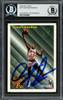 Dennis Rodman Autographed 1993-94 Fleer Card #227 Detroit Pistons Beckett BAS #13020669