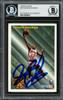 Dennis Rodman Autographed 1993-94 Fleer Card #227 Detroit Pistons Beckett BAS #13020670