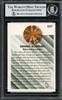 Dennis Rodman Autographed 1993-94 Fleer Card #227 Detroit Pistons Beckett BAS #13020666