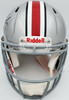Justin Fields Autographed Ohio State Buckeyes Silver Full Size Authentic Speed Helmet Beckett BAS Stock #195177