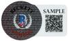 Christian McCaffrey Autographed Carolina Panthers Camo Full Size Replica Speed Helmet Beckett BAS QR Stock #195183