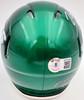 Zach Wilson Autographed New York Jets Green Speed Mini Helmet Beckett BAS QR Stock #195259