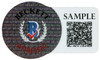 "Alvin Kamara Autographed New Orleans Saints Eclipse Black Full Size Authentic Speed Helmet ""6 TD's 12/25/20"" (Light Auto) Beckett BAS QR #WJ58535"