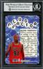 Dennis Rodman Autographed 1998-99 Fleer Tradition Card #139 Chicago Bulls Beckett BAS #13020799