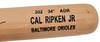 Cal Ripken Jr. Autographed Blonde Rawlings Game Model Bat Baltimore Orioles Beckett BAS QR Stock #196087