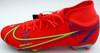 Mason Mount Autographed Orange Nike Mercurial Cleat Shoe Chelsea F.C. Size 9 Beckett BAS #K06451
