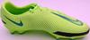 Mason Mount Autographed Green Nike Phantom Cleat Shoe Chelsea F.C. Size 10.5 Beckett BAS #K06297
