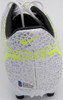 Mason Mount Autographed Silver & Yellow Nike Mercurial Cleat Shoe Chelsea F.C. Size 8 Beckett BAS #K06350
