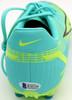 Mason Mount Autographed Teal Nike Mercurial Cleat Shoe Chelsea F.C. Size 9 Beckett BAS #K06308
