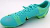 Mason Mount Autographed Teal Nike Mercurial Cleat Shoe Chelsea F.C. Size 12 Beckett BAS #K06301