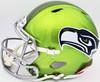 Seattle Seahawks Unsigned Green Flash Alternate Full Size Authentic Speed Helmet Stock #197054