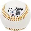 "Ron Guidry Autographed Official Gold Glove Baseball New York Yankees ""5X Gold Glove"" Beckett BAS Stock #197059"