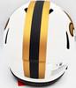 Drew Brees Autographed New Orleans Saints Lunar Eclipse White Full Size Authentic Speed Helmet Beckett BAS QR Stock #197108