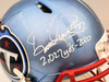 """Derrick Henry Autographed Tennessee Titans Flash Blue Full Size Authentic Speed Helmet """"2027 Yds-2020"""" Beckett BAS QR Stock #197131"""