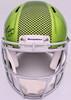 DK D.K. Metcalf Autographed Seattle Seahawks Flash Green Full Size Authentic Speed Helmet Beckett BAS QR Stock #197195