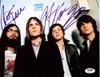 Kings of Leon Autographed 8x10 Photo Caleb Followill, Mathew Followill, Jared Followill & Nathan Followill PSA/DNA #Q06631