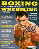 Carlos Ortiz Autographed Boxing Illustrated Magazine Cover PSA/DNA #S48533