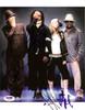 Black Eyed Peas Autographed 8x10 Photo Fergie, will.i.am, Taboo & apl.de.ap PSA/DNA #S00402