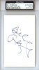 Bill Robinzine Autographed 3x5 Index Card PSA/DNA #83765029