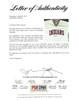 Bill Veeck Autographed Owner Cleveland Indians Jersey PSA/DNA #X04495