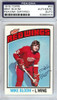 Mike Bloom Autographed 1976 Topps Card #56 Detroit Red Wings PSA/DNA #83860405
