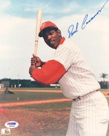 Paul Casanova Autographed 8x10 Photo Washington Senators PSA/DNA #Q93450