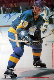 Marcel Dionne Autographed Magazine Poster Photo Los Angeles Kings PSA/DNA #U93890