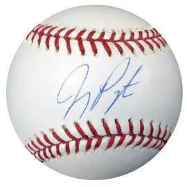 Jay Payton Autographed MLB Baseball Mets Steiner & MLB Holo #MR055776