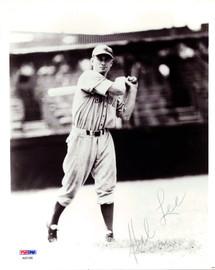 Hal Lee Autographed 8x10 Photo Boston Braves PSA/DNA #AB51586
