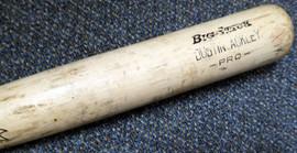 Dustin Ackley Game Used Rawlings Big Stick Bat New York Yankees SKU #105780