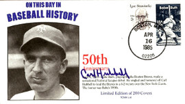 Carl Hubbell Autographed First Day Cover New York Giants PSA/DNA #AB53645